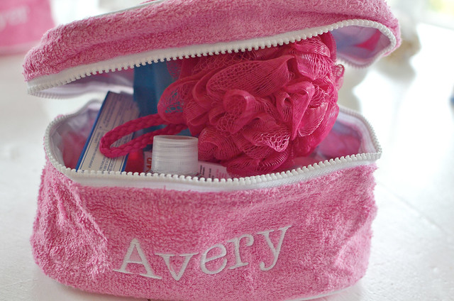 avery toiletry bag closed