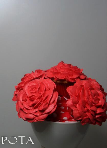 Cupcakes Bouquet Saint Valentin