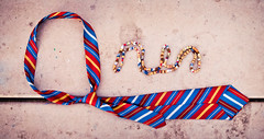 Spelling My Name in Tie and Bead