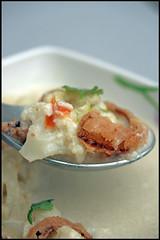 soupe de chou-fleur au lait de coco