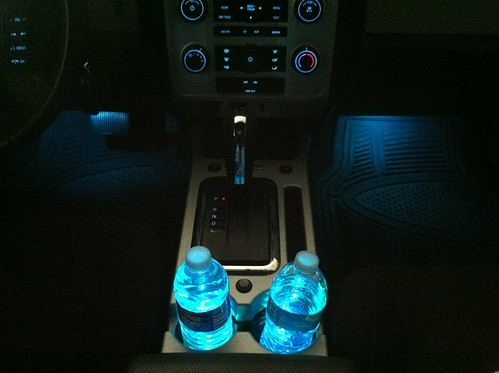 2013 Ford Escape Ambient Lighting Colors