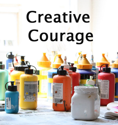 Creative Courage e-course with Stephanie Levy | Emma Lamb