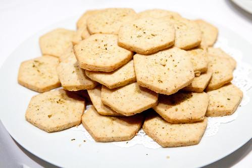 Fennel parmesan cookies