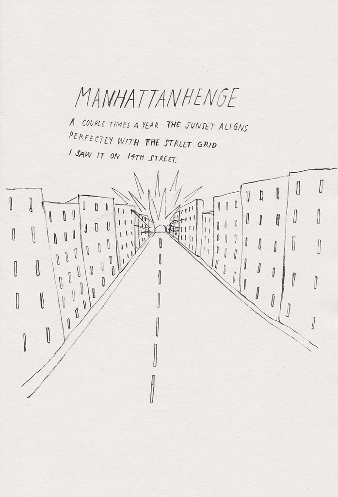 new york stories: manhattanhenge