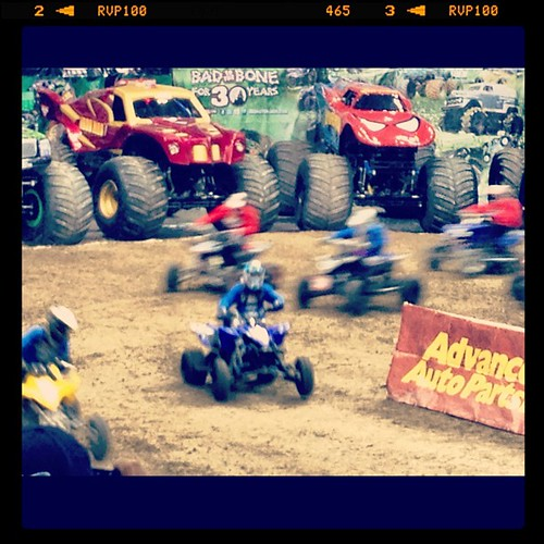 Quad Racing at Denver Monster Jam