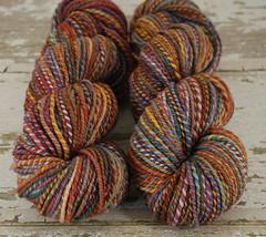 """Sorcerer's Stone"" Merino/BFL Handspun yarn"