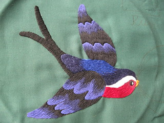 Poker cloth swallow
