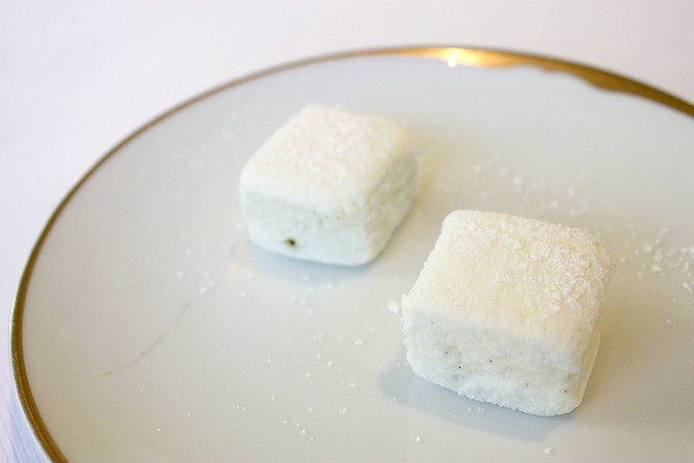 Mini Marshmallows at Jean Georges New York
