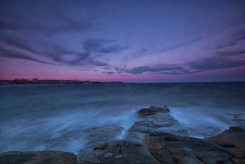 Manly at sunset
