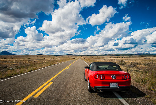 mustang country by Gunnar Helliesen