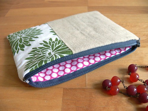 Jenny: Quilted Patchwork Pouches