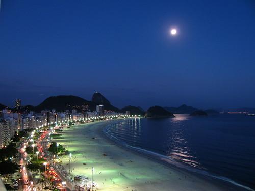 Luna llena en Río de Janeiro