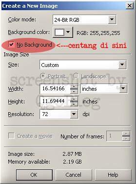 Cara Membuat Background Gambar Menjadi Transparan 1