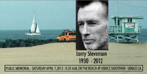 Larry Stevenson's Public Memorial