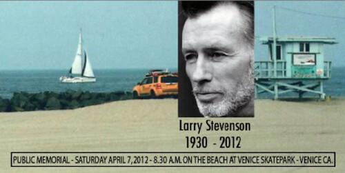 Larry Stevenson's Public Memorial
