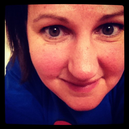 Sweaty, really sweaty. I hate working out but I'm sweating past that. I also smell. #febphotoaday