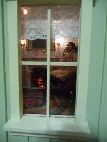 A peek into the parlor window