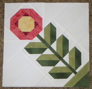 Paper Pieced Pattern-A-Day Garden Party Blog Hop - April 7