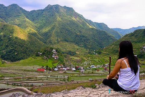 backpacking trekking adventure travel to Rice Terraces Philippines