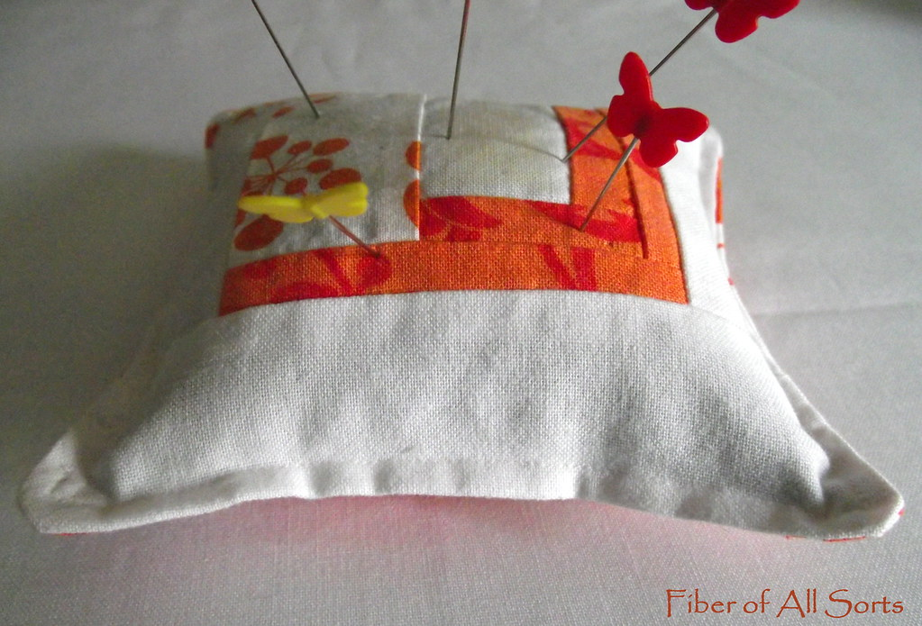 Orange you Glad - Pincushion for me