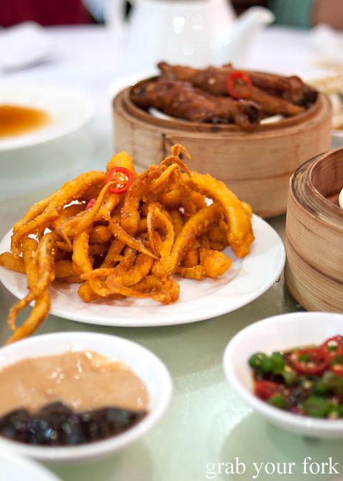 deep fried calamari yum cha dim sum east ocean chinatown haymarket