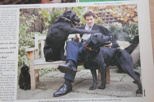 Monty Don in W magazine 1987