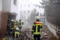 Einsatzübung Abrisshaus Bingertstr. 18.02.12