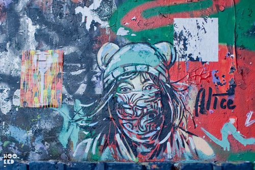 Alice Pasquini, Street Art in London. Photo © Hookedblog / Mark Rigney