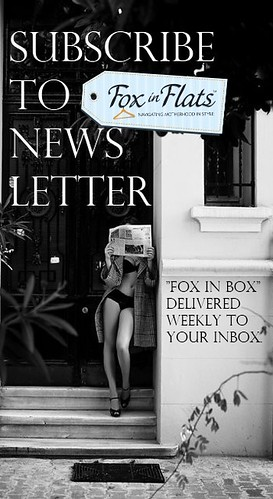 subscribe to fox in flats newsletter