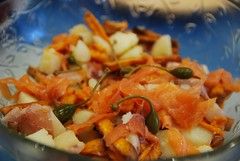 Ning's Smoked Salmon and Roasted White and Sw…