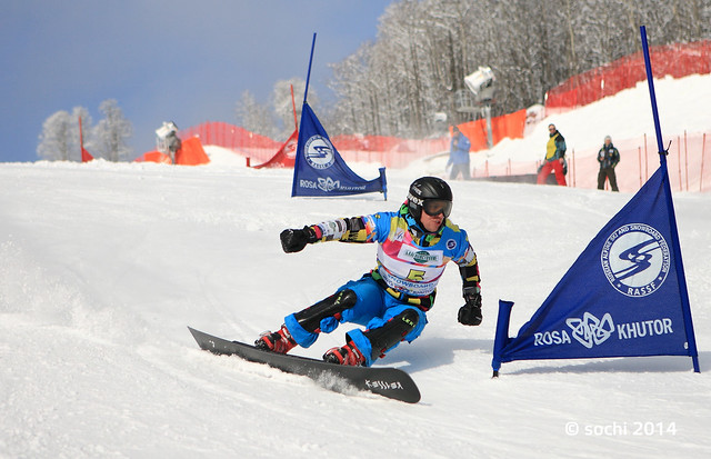 Snowboard FIS Europa Cup PSL 2012 in Sochi