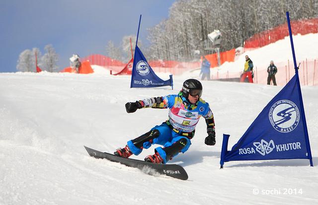 Snowboard FIS Europa Cup PSL 2012 in Sochi