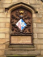 Photo of Sarah Hewley stone plaque