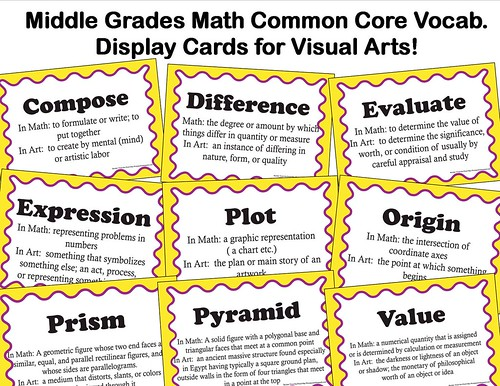 middle grades math common core advert