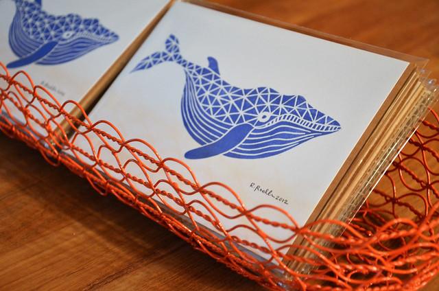whale mini print