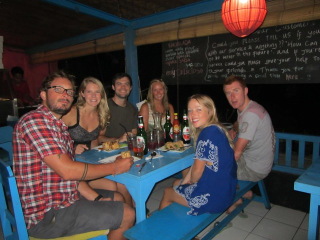 friends in ubud, bali