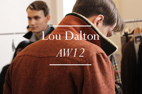 Lou Dalton AW12 Feature Button