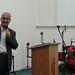 Pr. Almir da Metodista Wesleyana discorrendo sobre a dimensão escatológica da santidade