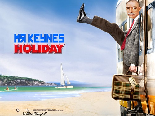 MR KEYNES HOLIDAY by Colonel Flick