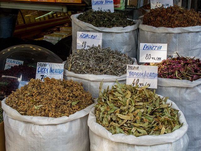 Spices in Istanbul