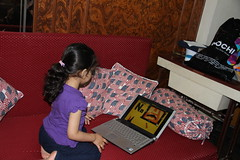 Marziya Shakir The Worlds Youngest Street Photographer Gets A Gift of a Laptop by firoze shakir photographerno1