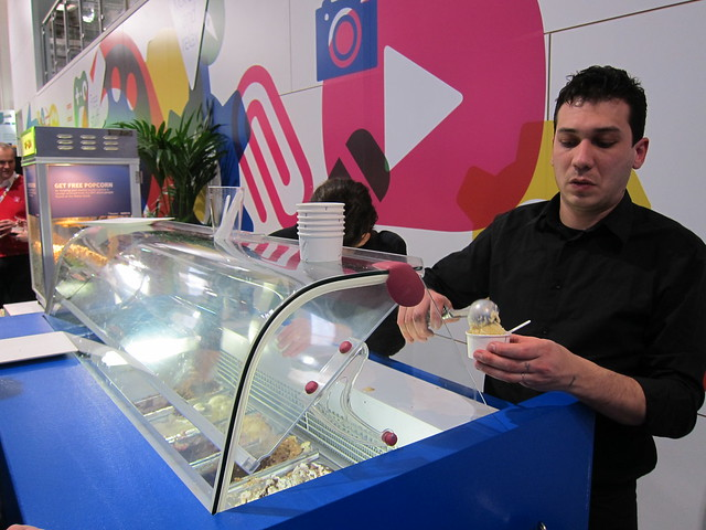 Ice Cream Stall In Nokia Booth