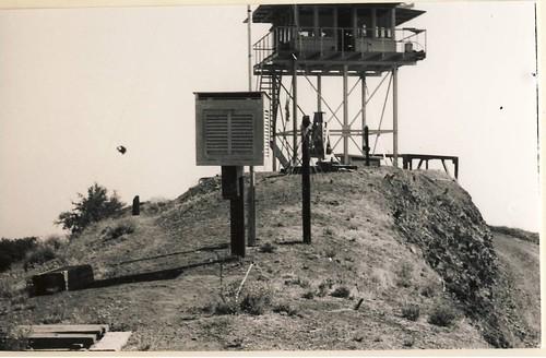 Nordhoff Peak Lookout, 1959