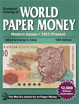 2013 standard Catalog of World Paper Money