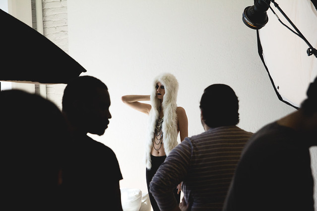 Jeremy Givens Behind the Scenes Fashion Shoot