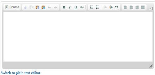 Filtered HTML
