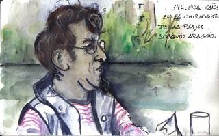 35 sketchcrawl in Valladolid 14H. Joaquín Aragón