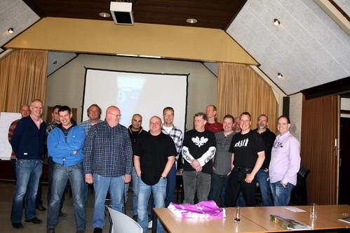 groepsfoto op de NVN cursus watermanagement 2012