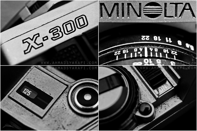 Minolta X-300 Close Up Shots
