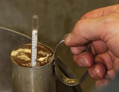 Measuring density Hydrometer